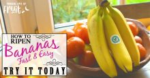 How To Ripen Bananas (FAST & EASY) Try It Today