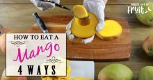 How To Eat A Mango (4 Ways)
