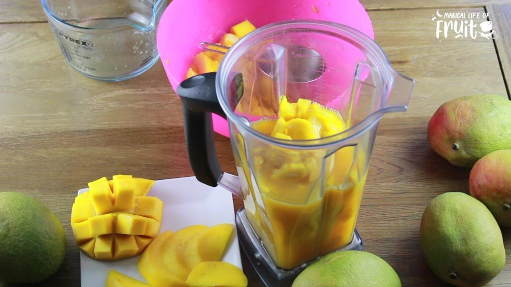 Easiest Mango Smoothie Recipe (2 Ingredient, Raw, Vegan)